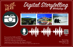 Digital Storytelling Workshop Flyer